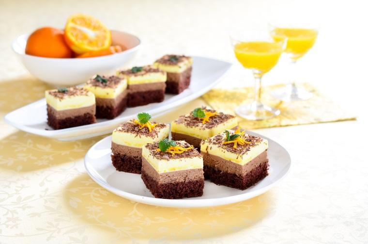 24. Mousse kolač od čokolade i naranče1