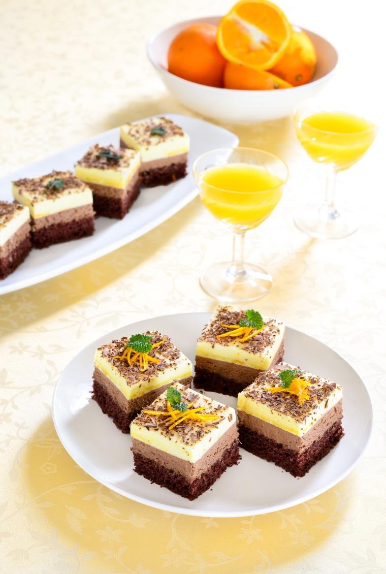 24. Mousse kolač od čokolade i naranče4